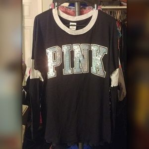 Victoria's Secret Pink Bling Top